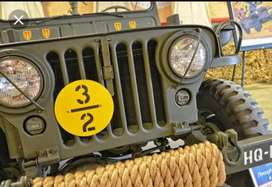 Willy army jeep
