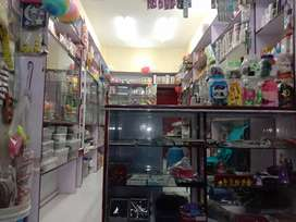 Gifts, Cosmetic, Stationary, Counter, Racks and other items for sale
