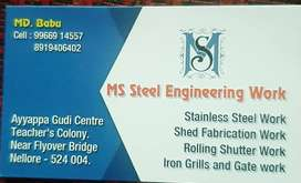 Ms steel engineering work