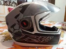 Steelbird Air helmet white gray