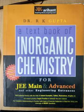 Arihant's Inorganic Chemistry for JEE by Dr R.K Gupta