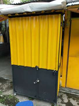 Booth kontainer