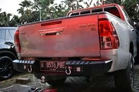 Bumper Belakang Toyota Hilux