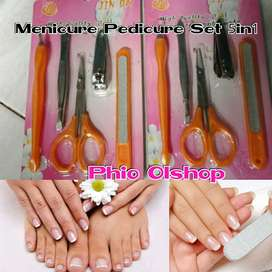 Meni Pedi Set 5in1