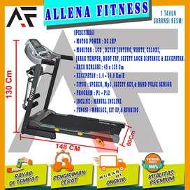 Alat Fitness Treadmill Elektrik TL288 | Alat Olahraga Treadmill Murah