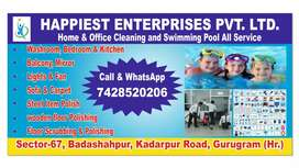 Home s office Cleaning and Swimming pool all Service