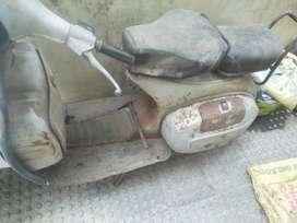 Bajaj chetak and Bravo 5000 Kms 1998 year scrap condition