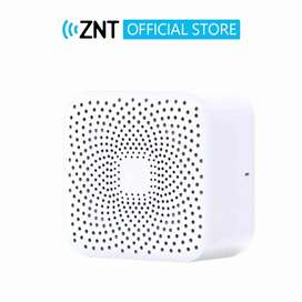 ZNT AirBox Wireless Speaker Bluetooth Portable Mini Warna Putih