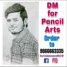 Pencil arts Available with frame