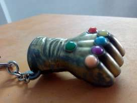 Green And Red Hand Key Chain
