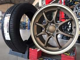 Jual velg mobil Nissan March,Livina type->CE28 R16X7 H8X100-114.3 ET38