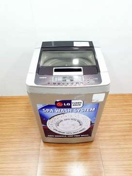 LG fuzzy logic 6.2kg top load washing machine