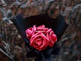 Jual buket bunga mawar murah (artificial)