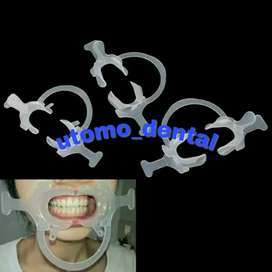 2pcs lip cheek retractor / pembuka mulut