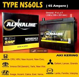 Delivery Aki Kering NS60LS 45Ah For Wuling Confero
