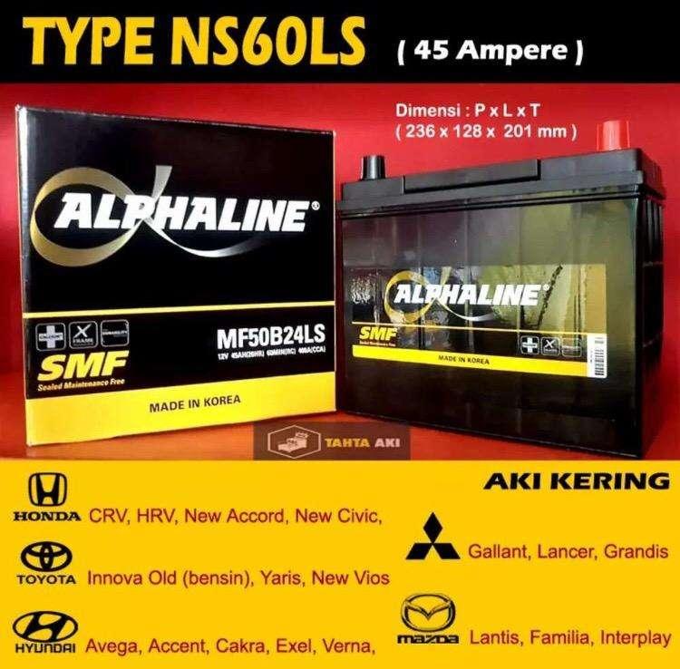 Delivery Aki Kering NS60LS 45Ah For Wuling Confero