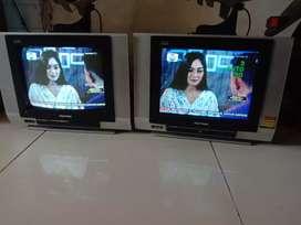 Tv tabung 14in normal lengkap remot