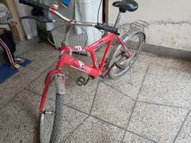 New bicycle h  red color h