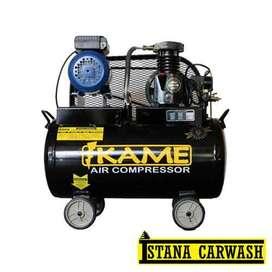 Kompresor Udara IKAME 1/2 PK Motor Listrik, Hidrolik Cuci Mobil Motor