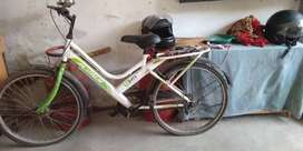 Good condition cycle available.