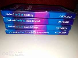 Oxford English set of 4