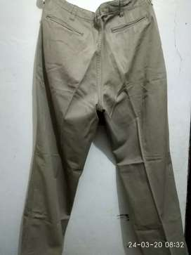 Celana Chinos waist size 32 catton tebal banget