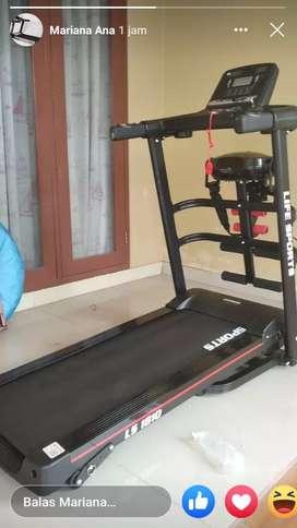jual alat fitnes treadmill elektrik 5  fungsi  murah
