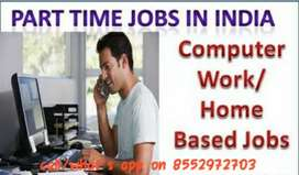 Internet base work as part time-part time jobs online tourism