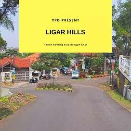 PROMO Kavling Ligar Hills 2 Unit SHM Siap Bangun 4 Jutaan !