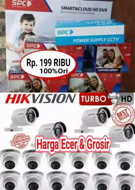 JUAL CAMERA CCTV FULL HD HARGA SATUAN DAN PAKET LENGKAP