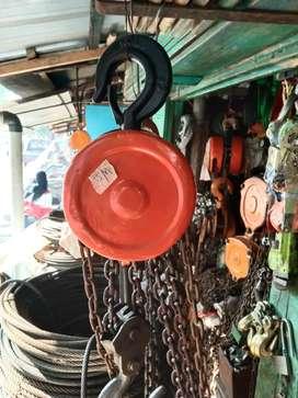 Takel katrol chain block 2 ton seling rantai