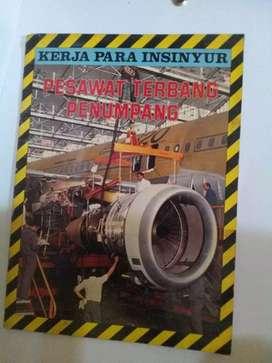 Book insiyur pesawat terbang/minat sms wa diprofile