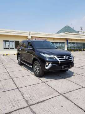 Toyota Fortuner 2.4 VRZ AT 2016 Hitam Record Tgn1