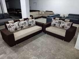 New Fancy Pelin 3 + 2 Sofa Set With Loose Cushions WDC-1073