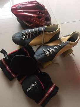 Hyper roller skates with kit