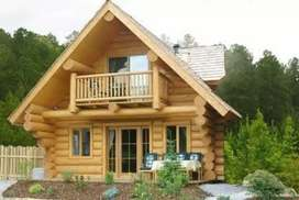 Wanted wooden house