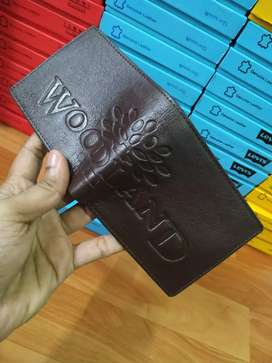 Genuine leather wallet (brand new with box)