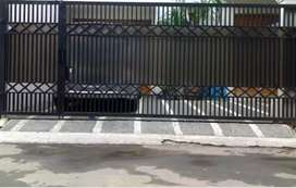 kanopy rangka baja ringan pagar (gmbr02)