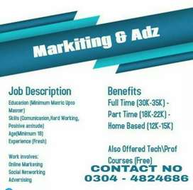 Staff required for office management
