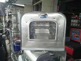 oven kompor double swan alumunium tebal 45cm