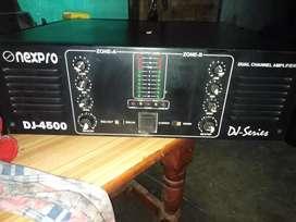 DJ amplifier 4500 ward Rs25000
