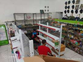 jual rak minimarket | rak gondola supermarket rak toko swalayan