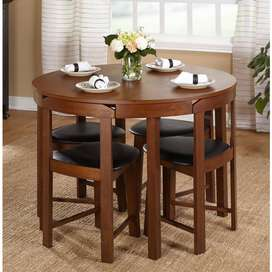 Just check out this Unique style dining table set available for sale
