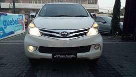 Astina Mobil DP RINGAN 19 JT TOYOTA New Avanza 1.3 G AT Matic Putih