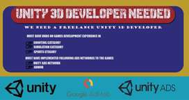 Freelance Unity 3D Developers are needed