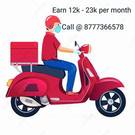 Need experienced parcel delivery executive in Belghachia, dunlop etc