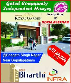 Individual houses at a reasonable cost
