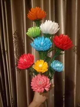 Bunga krisan akrilik bsr