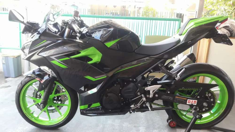 KAWASAKI NINJA 250 ABS SE SMART KEY FULL MODIFICATION(HIGH SPEK)