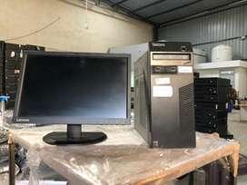 Lenovo Tower Used Core I5 4th Gen Full Desktop 13500/-